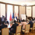"""Састанак са делегацијом компаније """"Shandong Hi-Speed Group"""" и амбасадорком НР Кине"""