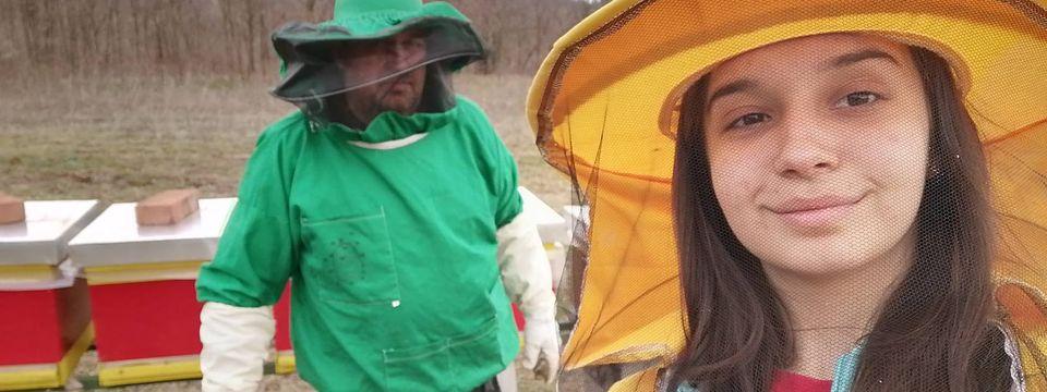 Најмлађа пчеларка из Голупца