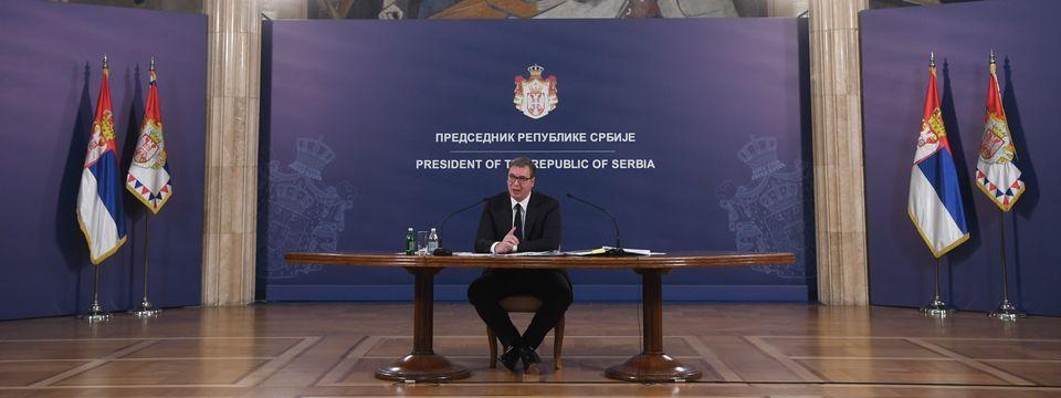 Обраћање председника Републике Србије 04.06.2021.
