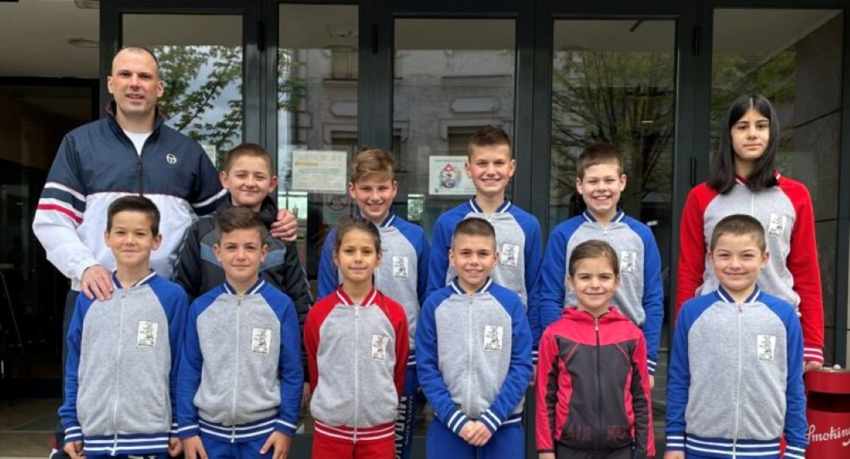 Ружица и Петар – млади милановачки шампиони