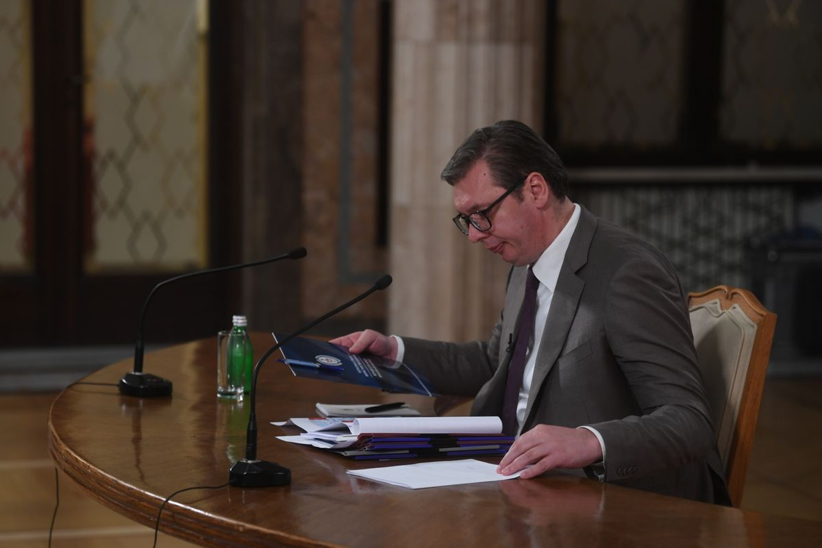 Обраћање председника Републике Србије 16.06.2021.