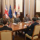 Састанак са министром одбране Уједињеног Краљевства