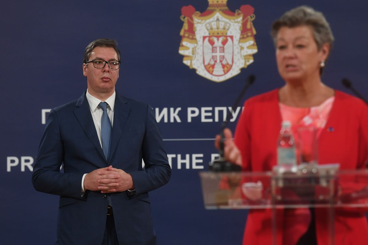 Састанак са Комесарком Европске уније за унутрашње послове и миграције