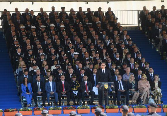 Председник Вучић на централној манифестацији поводом прославе Дана полиције
