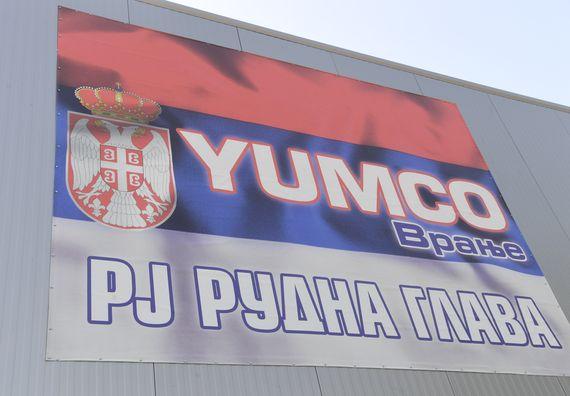 Председник Вучић присуствовао почетку рада производног погона фабрике Јумко у Рудној Глави