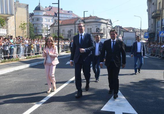 Председник Вучић посетио Крушевац