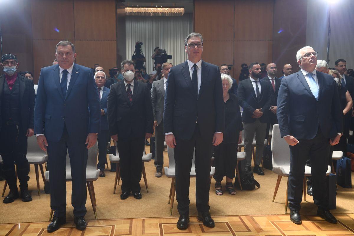 Председник Вучић уручио одликовања поводом Видовдана