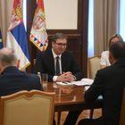 Председник Вучић састао се са директором Спољне обавештајне службе (СВР) Руске Федерације