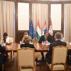 Састанак са председником Народне скупштине Мађарске