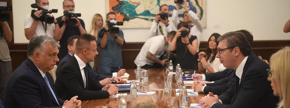 Радна посета премијера Мађарске Републици Србији