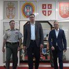 Predsednik Vučić sastao se sa predstavnicima vojnog vrha Republike Srbije
