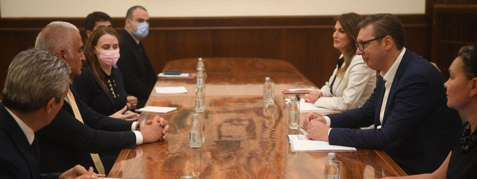 Састанак са министром културе и туризма Републике Tурске