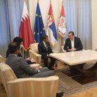 Oproštajna poseta ambasadora Katara