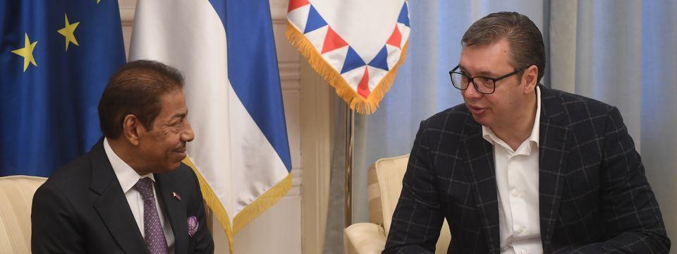 Опроштајна посета амбасадора Катара