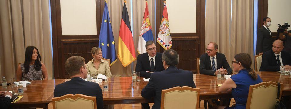 Састанак са државним секретаром Министарства спољних послова Савезне Републике Немачке