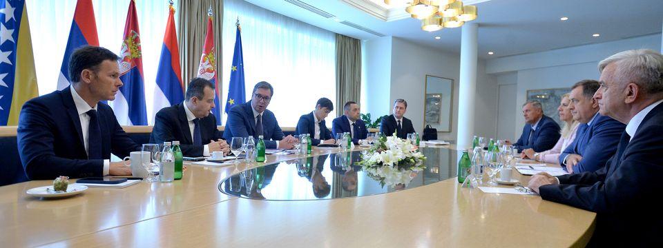 Састанак са српским чланом Председништва БиХ и представницима Републике Српске