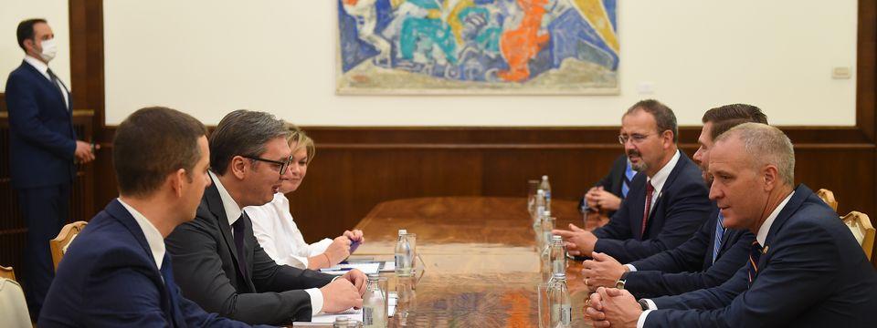 Састанак са члановима делегације Конгреса Сједињених Америчких Држава