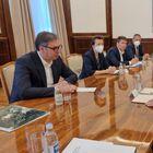 Председник Вучић састао се са представницима компаније Зиђин