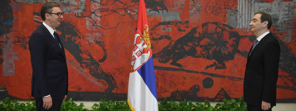 Председник Вучић примио акредитивна писма новоименованог амбасадора Републике Азербејџан
