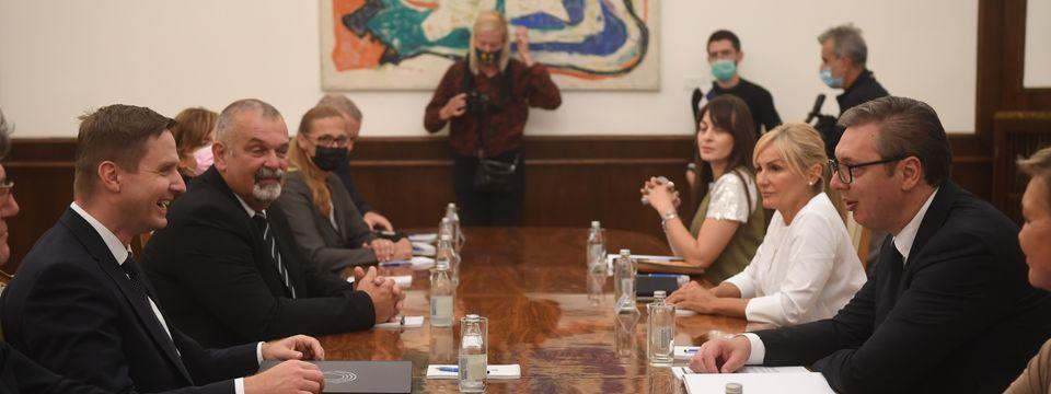 Састанак са председником Државног збора Републике Словеније