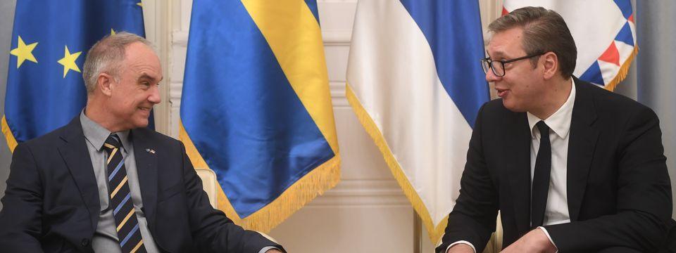 Опроштајна посета амбасадора Краљевине Шведске
