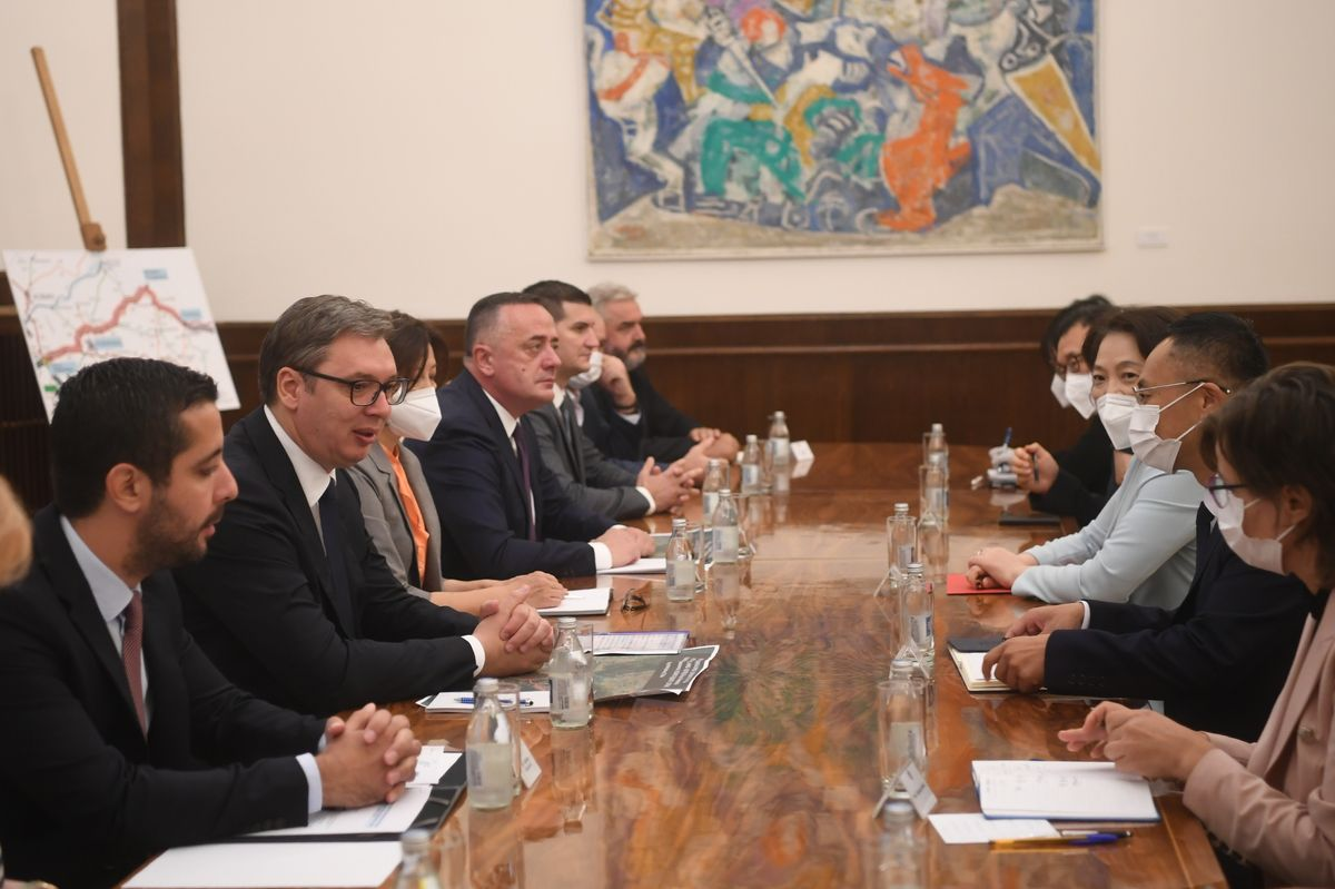 Sastanak sa delegacijom kompanije