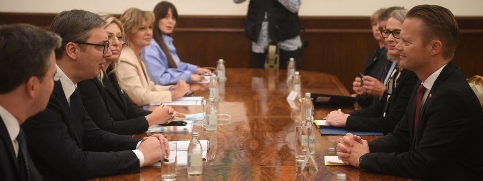 Састанак са министром спољних послова Краљевине Данске