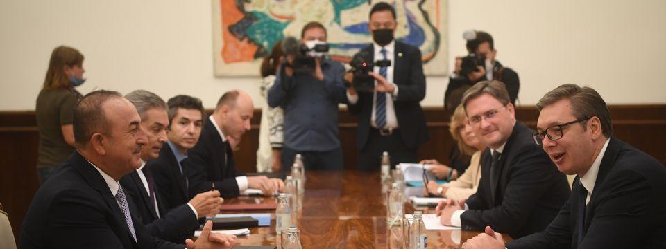 Sastanak sa ministrom spoljnih poslova Republike Turske