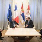 Опроштајна посета амбасадора Републике Француске