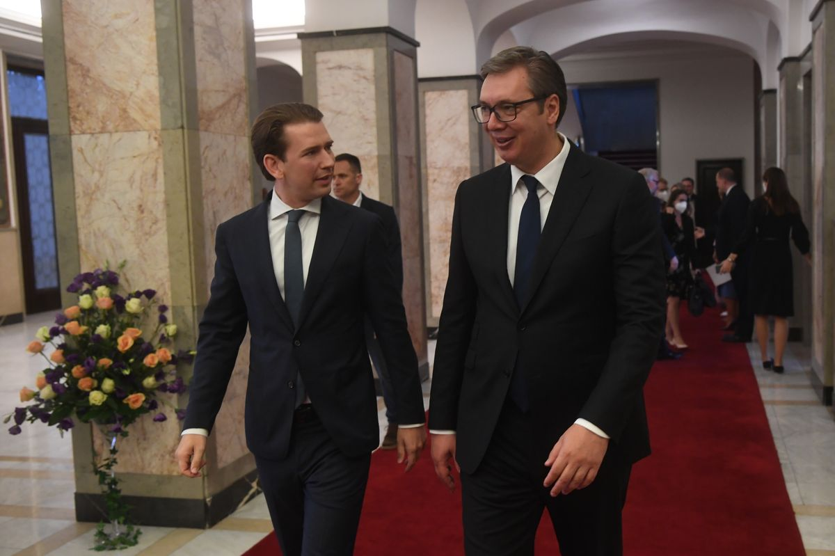 Радна посета савезног канцелара Републике Аустрије