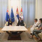 Опроштајна посета амбасадорке Аустралије