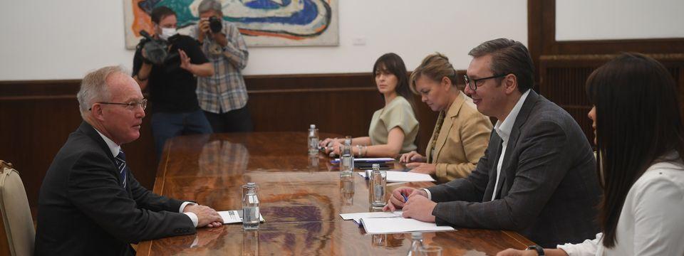 Састанак са шефом Мисије ОЕБС