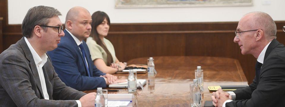 Sastanak sa ambasadorom Savezne Republike Nemačke