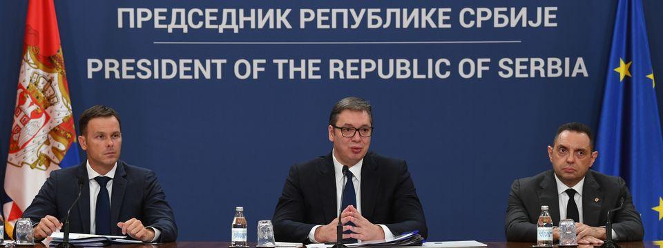Обраћање јавности председника Републике Србије