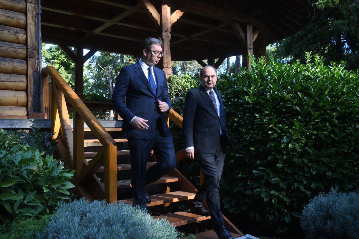 Sastanak sa Visokim predstavnikom međunarodne zajednice u Bosni i Hercegovini