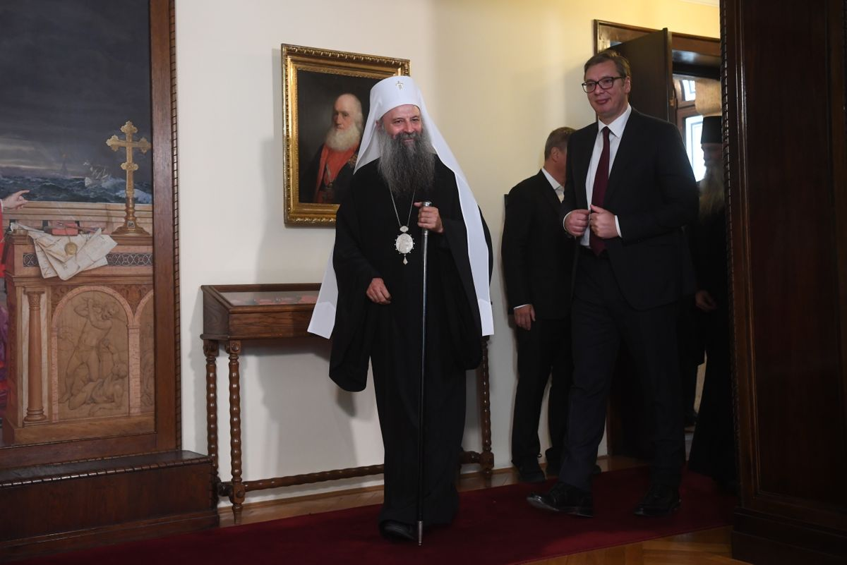 Састанак са Његовом светошћу патријархом српским г. Порфиријем
