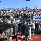 Председник Вучић обишао реконструисани Атлетски стадион у Краљеву