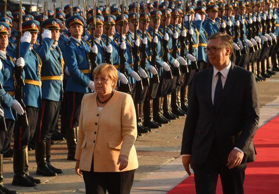 Званична посета канцеларке Савезне Републике Немачке