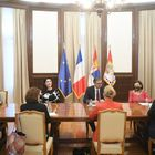 Састанак са члановима делегације Сената Републике Француске