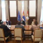 Sastanak sa posrednicima Evropskog parlamenta u međustranačkom dijalogu