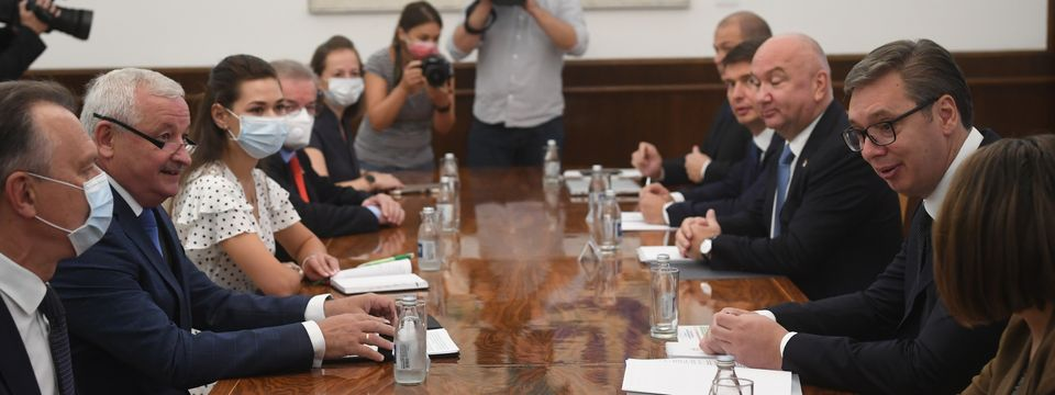 Састанак са министром индустрије Републике Белорусије