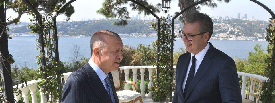 Predsednik Vučić u poseti Istanbulu