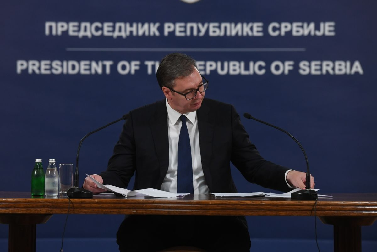 Обраћање председника Републике Србије 20.09.2021.