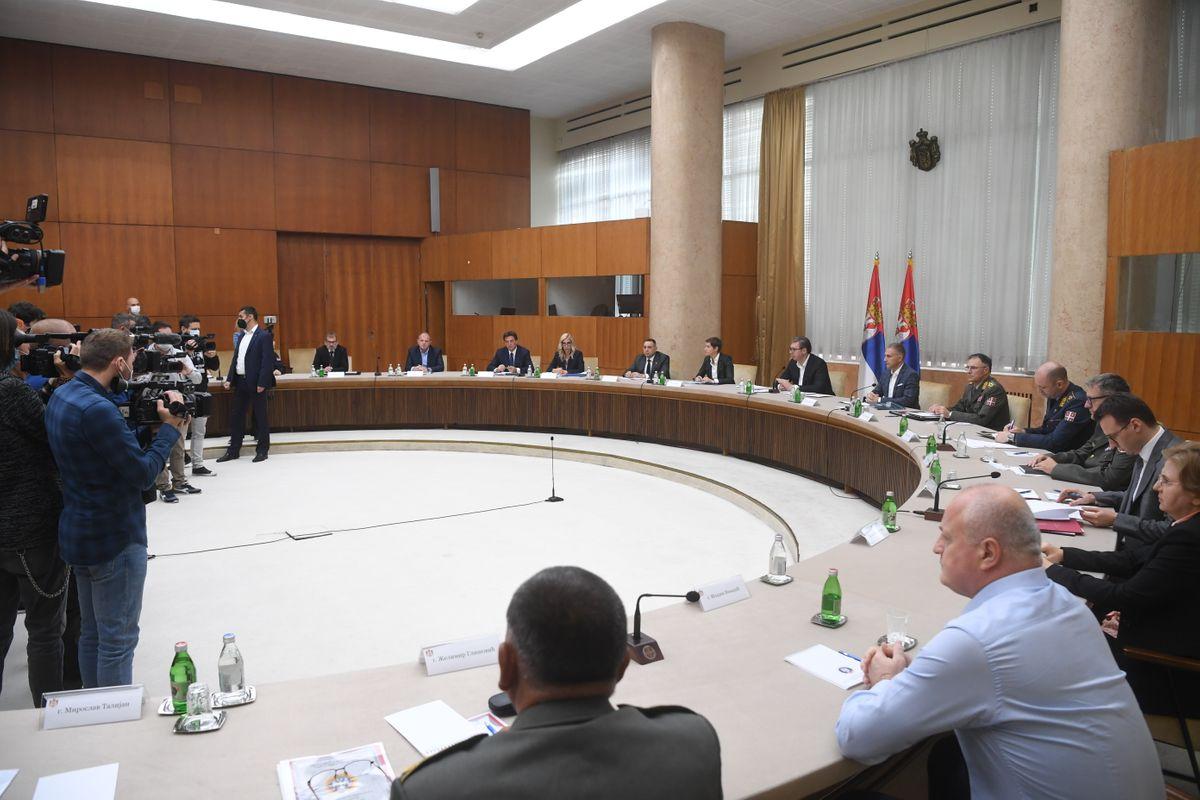 Održana sednica Saveta za nacionalnu bezbednost