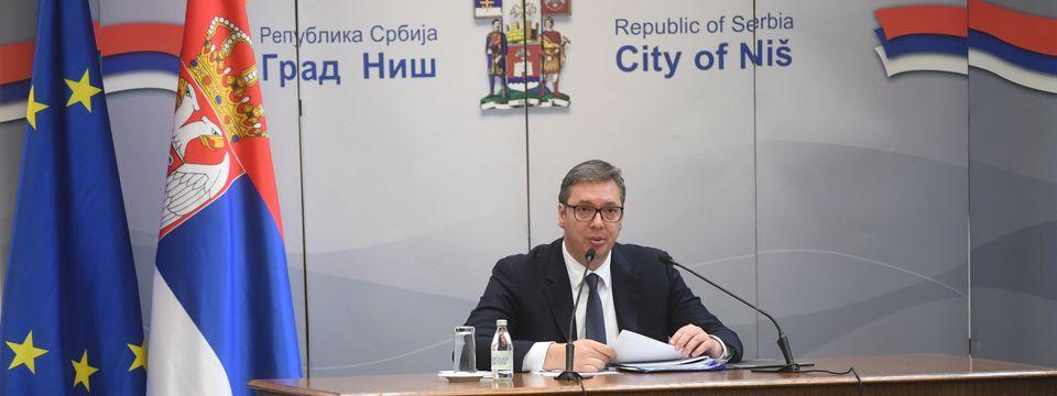 Конференција за медије у Нишу
