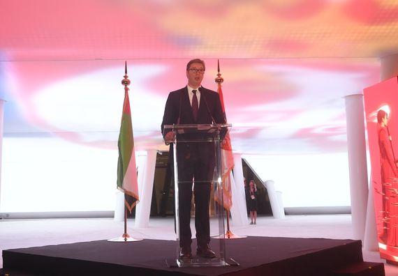 Председник Вучић у посети Дубаију