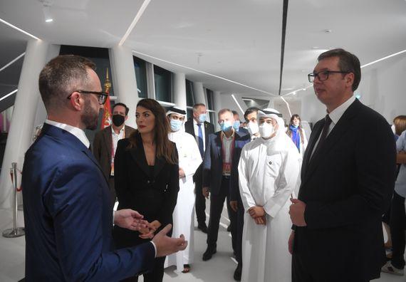 Predsednik Vučić u poseti Dubaiju