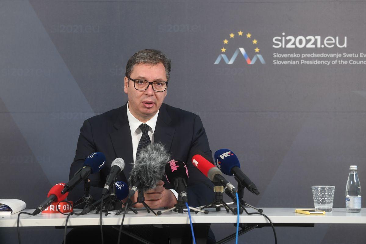 Председник Вучић у посети Републици Словенији