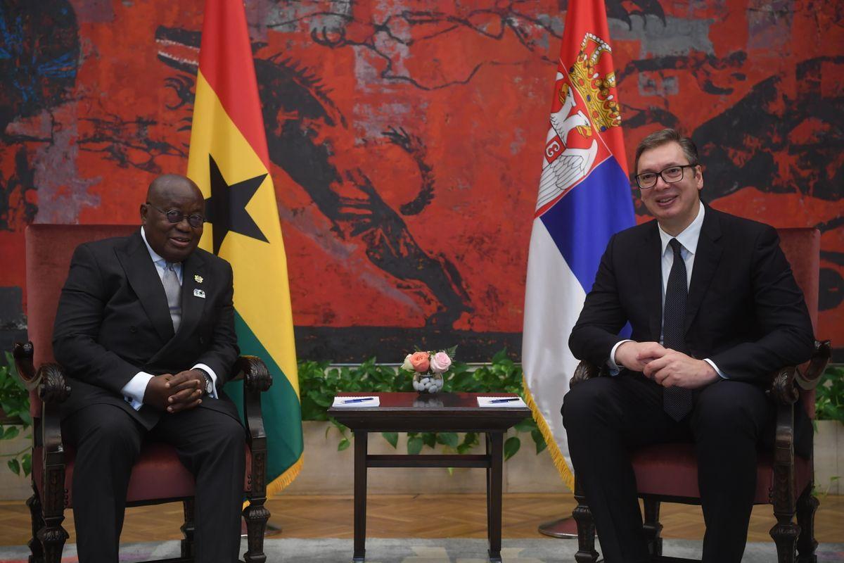 Sastanak sa predsednikom Republike Gane