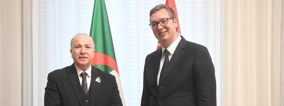 Sastanak sa predsednikom Vlade Narodne Demokratske Republike Alžir